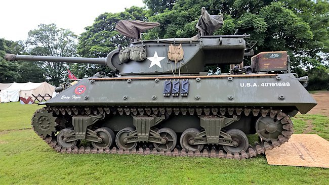 Surviving M36 Jackson Tank Destroyer Easy Tiger
