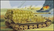 1:35 Scale Military Ferdinand Tank Destroyer Model Kits