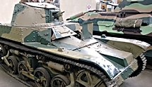 Surviving French AMR 33 WW2 Light Tank