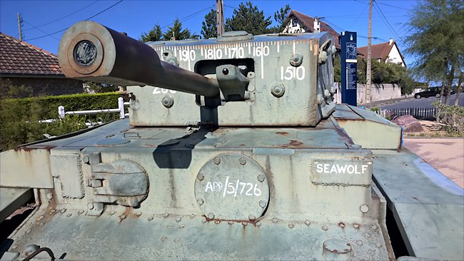 Preserved A27L Cruiser MK VIII Centaur IV CS (Close Support) Tank used on Sword Beach during D-Day