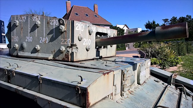 Surviving  British Centaur IV Tank used in Normandy during D-Day