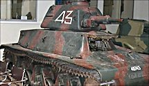 Surviving Char Hotchkiss H39 French 1940 Battle of France Tank