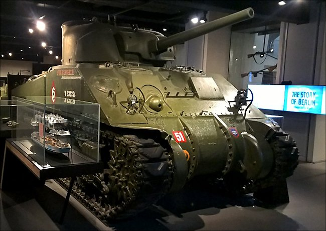 Surviving Sherman M4A4 British Medium Tank