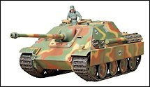 1:35 Scale Military Jagdpanther Tank Destroyer Model Kits