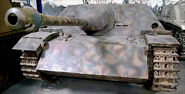 Surviving German WW2 Jagdpanzer IV Tank Destroyer