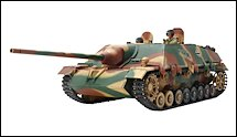 1:35 Scale Military Jagdpanzer IV Tank Destroyer Model Kits