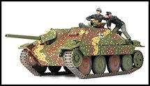 1:35 Scale Military Hetzer Tank Destroyer Model Kits