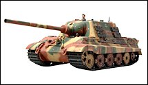 1:35 Scale Military Jagdtiger Tank Destroyer Model Kits