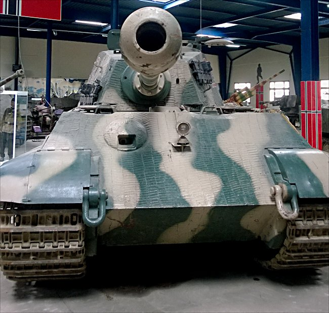 Surviving Ww2 King Tiger Ii Ausf B Heavy Tank Restored Preserved