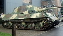 Surviving German WW2 Tiger II Panzerkampfwagn VI Ausf. B Heavy Tank Schweizerisches Militarmuseum Full Switzerland