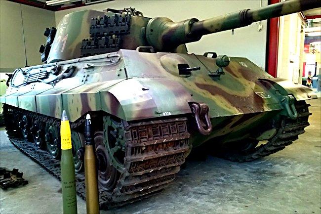 Preserved Ww2 Royal Tiger Tank Panzerkampfwagn Vi Ausf B