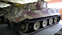Surviving German WW2 Tiger I Heavy Tank at Kubinka Tank Museum