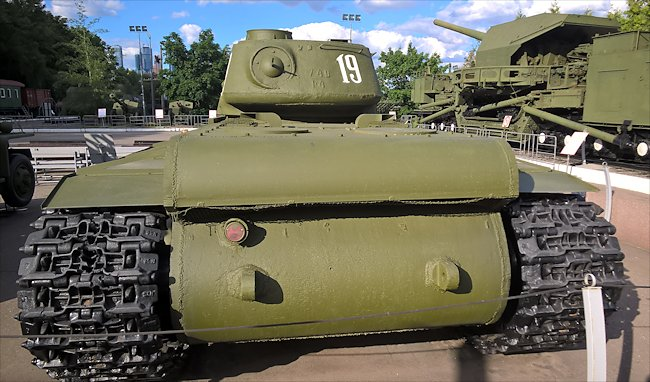 Preserved Russian Soviet WW2 KV-1 Heavy Tank