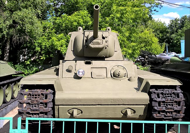 Surviving Red Army WW2 KV1 Heavy Tank