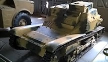 Surviving Carro Valoce CV-35 Italian Tankette