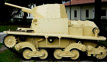 Surviving Carro Armato L6/40 light tank