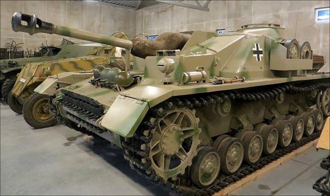 Surviving German StuG IV Sturmgeschütz Tank Destroyer Sd.Kfz.142