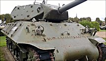 Surviving WW2 M10 Wolverine Tank Destroyer