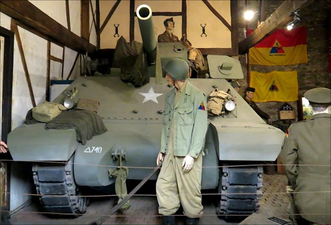 M10 Wolverine Tank Destroyers saw action in the WW2 Battle of the Bulge