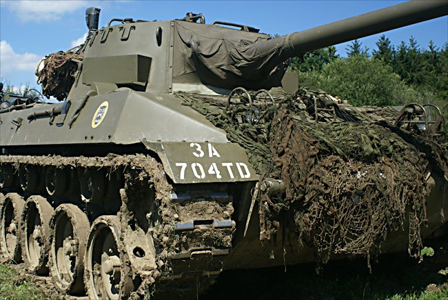 Surviving M18 Hellcat Tank Destroyer
