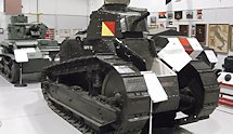 Surviving WW2 Canadian M1917 tank