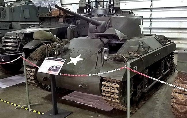 M22 Locust Light Tanks did not see action in the WW2 Battle of the Bulge