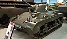 Surviving WW2 Tetrarch Light Tank