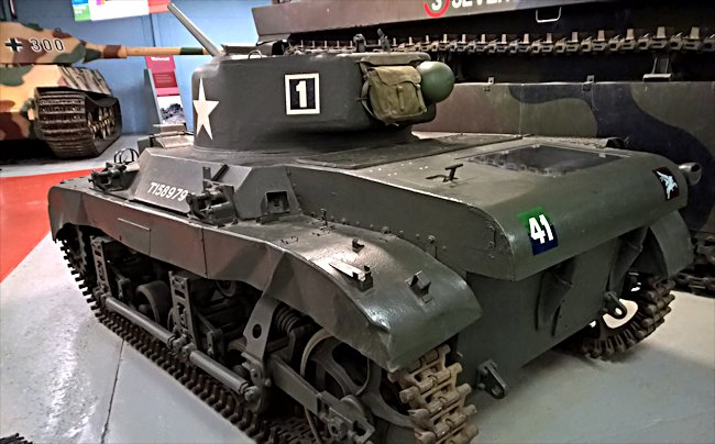 Surviving M22 Locust Light Tank engine hatches