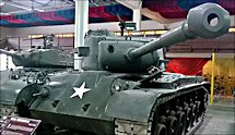 Surviving American WW2 M26 Pershing Tank
