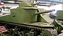 Surviving British M3 Grant Medium Tank