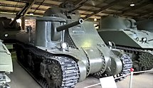 Restored Lend-lease M3 Lee WW2 Tank in Kubinka Tank Museum, Russia