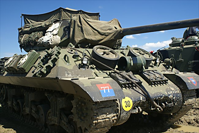 Surviving M10 Tank Destroyer