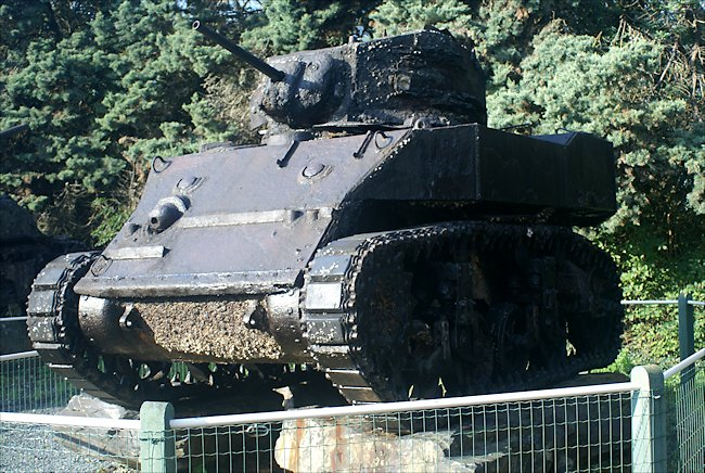 Surviving M5A1 Stuart Light Tank D-Day Underwater Wrecks Museum