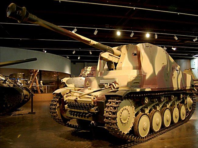 Surviving German Marder II 75mm Sd Kfz  132 Tank Destroyer
