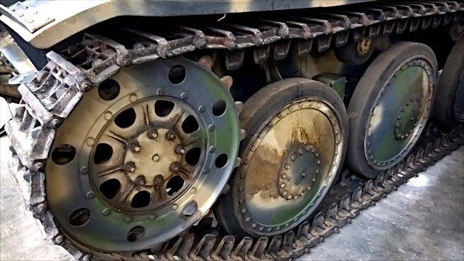 Surviving German Jagdpanzer Marder III Ausf. H 75mm Tank Destroyer Sd.Kfz. 138