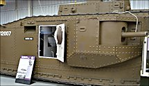 Surviving WW1 British and American Army Mark VIII International Tank