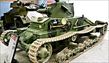 Surviving British Infantry Mark 1 Tank A11 Matilda MkI