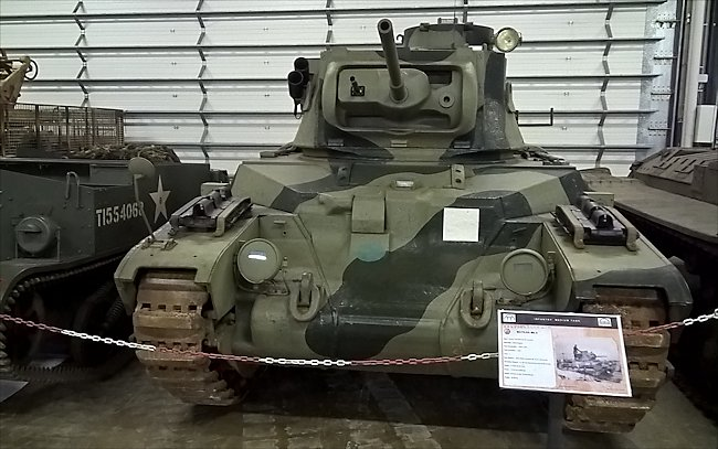 British Matilda II Mk III tank did not see action in the WW2 Battle of the Bulge