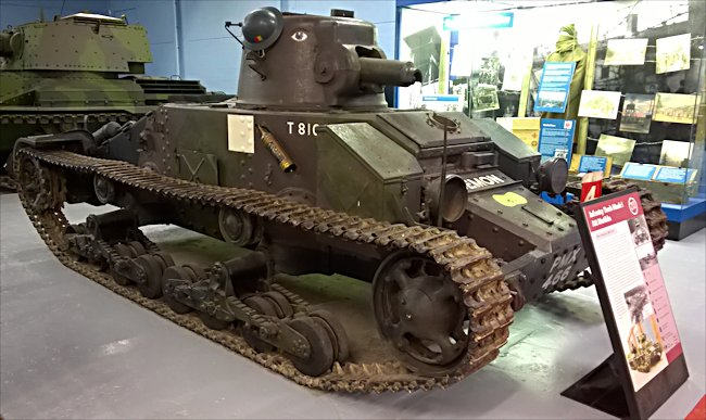 Surviving Mark I British Infantry A11 tank, the Matilda I