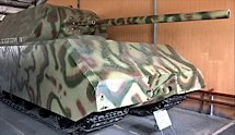 Surviving German WW2 Maus Panzerkampfwagn VIII Super Heavy Tank