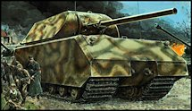1:35 Scale Military Maus Heavy Tank Model Kits