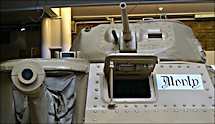 Surviving Field Marshal Bernard Montgomery's M3A3 Grant Tank used at El Alamein