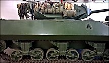 Surviving WW2 British M10 Achilles 17pdr Tank Destroyer at the Deutsches Panzermuseum Munster Germany