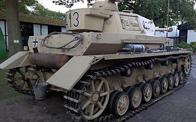 Surviving German Panzer IV Tank Ausf G Africa Korps