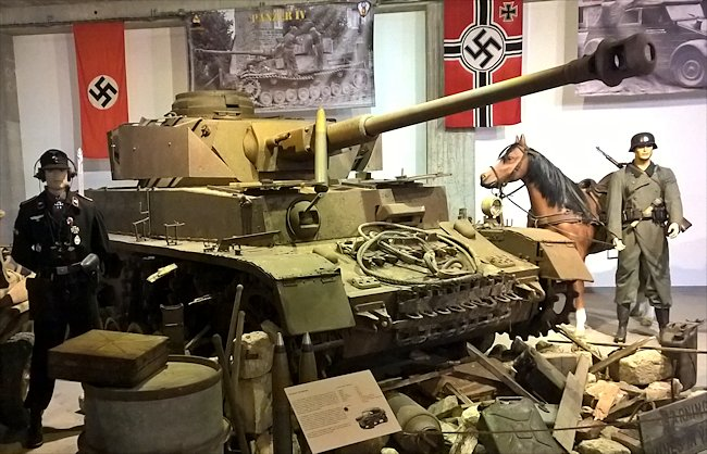Surviving Panzer IV Ausf H Tank used during D-Day