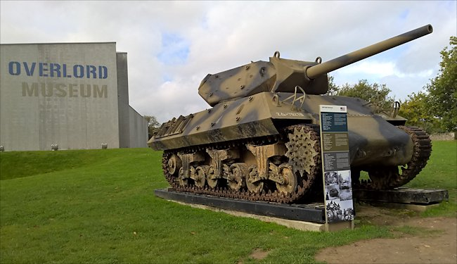 Surviving 3-inch Gun Motor Carriage, M10 Tank destroyer used in Normandy during D-Day