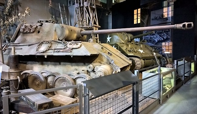 Surviving Panther Ausf A Tank used in Normandy during D-Day