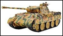1:35 Scale Military Panther Tank Model Kits