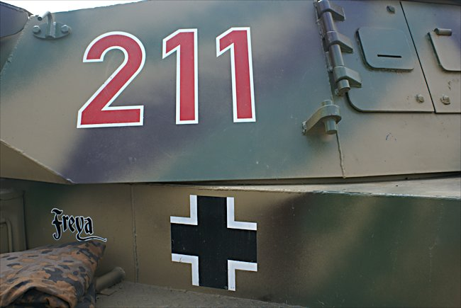 German Panzer III tank Replica 211
