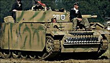 Surviving Panzer III Ausf M replica tank